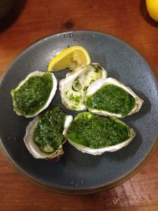 oysters finishe dish